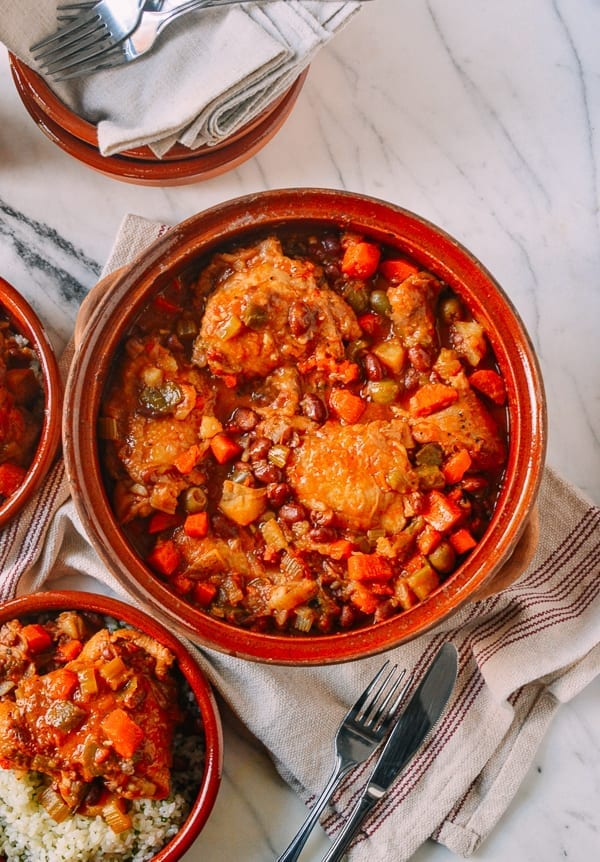 خورش مرغ اسپانیایی | جوشونده